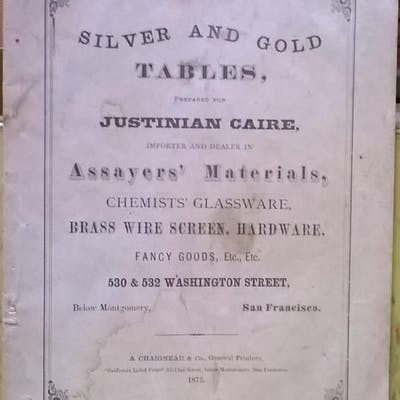 Silver and Gold Tables