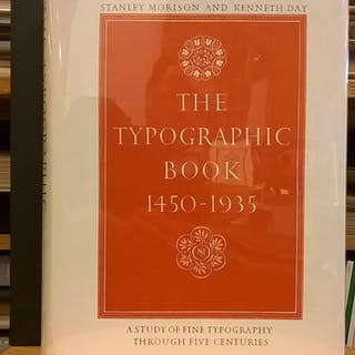 The Typographic Book 1450-1935: A Study of Fine...