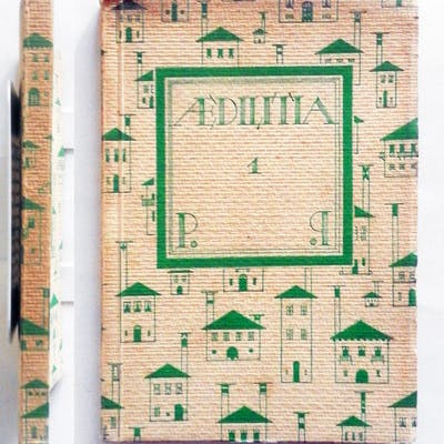 Piero Portaluppi Aedilitia 1 Bestetti & Tumminelli 1924...