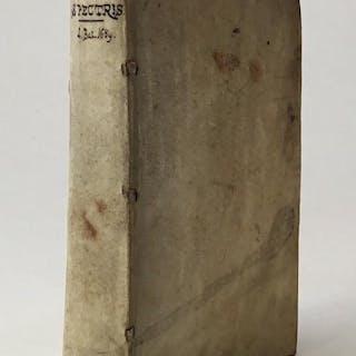De Spectris, Lemuribus et magnis. Liber unus. LAVATER TIGURINUS, LUDWIG.