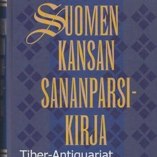 Suomen kansan sananparsi-kirja