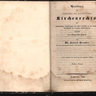 Konvolut zwei (2) Bände: Handbuch des katholischen und...