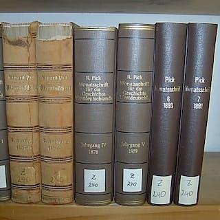 Monatsschrift für rheinisch-westfälische Geschichtsforschung und Alterthumskunde
