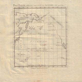 Plan charta tilhorande underrattelsen om Captn Cook sista...