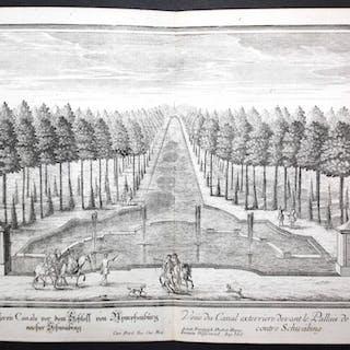 """""""Prospect deß äußeren Canals vor den Schloss von..."""