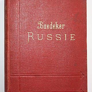 Russie. La Russie Manuel Du Voyageur. Baedeker, K.: Reise