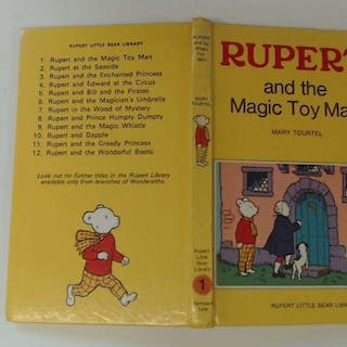 Rupert and the Magic Toy Man - Rupert Little Bear Library (Woolworth) No