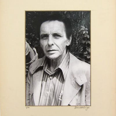 [Portrait Photograph of Herbert Huncke] Malanga