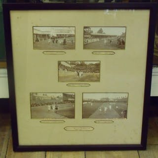 ANTIQUE ATHLETICS CHAMPIONSHIPS (JULY 1899) PHOTOGRAPH...