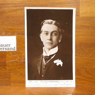 Original Autograph Harry Quiningborough (died 1915) british actor