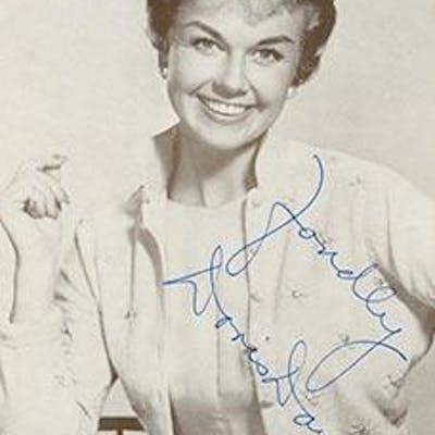 Photograph of Doris Day. Signed. Day, Doris (1922 - 2019) Cinema
