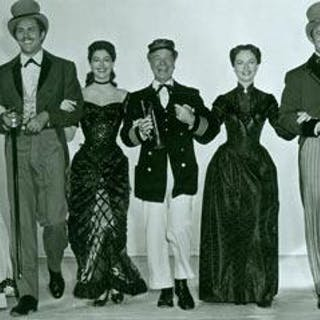 Promotional B&W Photograph for Showboat