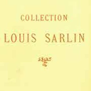 Collection Louis Sarlin: Tableaux Modernes