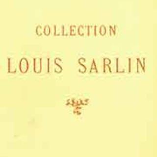 Collection Louis Sarlin: Tableaux Modernes