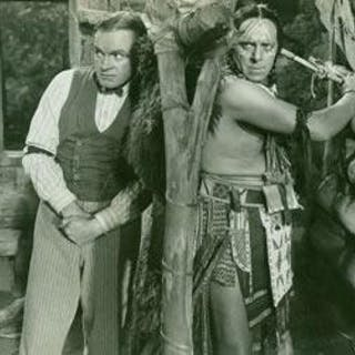 Promotional B&W Photograph for The Paleface
