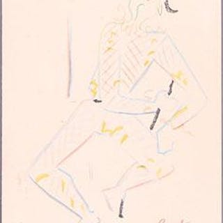Arlequin. First edition. Cocteau, Jean (1889-1963) Prints - French