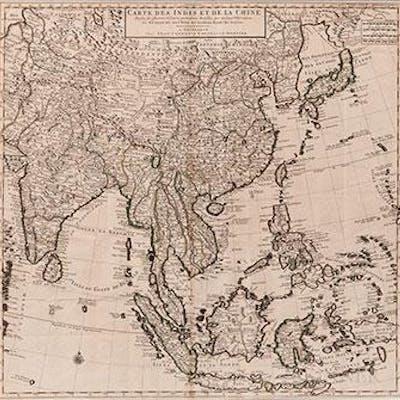 Carte des Indes et de la Chine