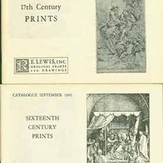 17th Century Prints October 1984 and Sixteenth Century Prints September 1985