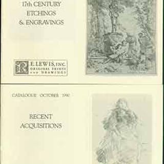 17th Century Etchings & Engravings June 1989 and Recent...