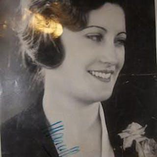 Marcella Chantal autographed PR photograph