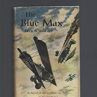The Blue Max Hunter, Jack D. Books Into Film
