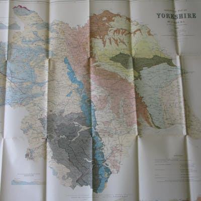 A map of the Geology of Yorkshire C