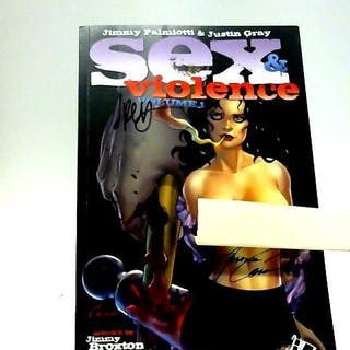 Sex & Violence Volume 1 J. Palmiotti & J. Grey et al Adult & Erotic