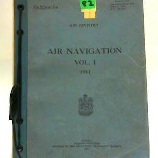 AP 1234 Air Navigation, Vol. 1 Air Ministry War and Military