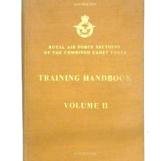 Royal Air Force Sections Of The Combined Cadet Force Training Handbook: Vol