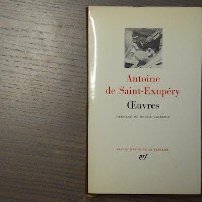 OEUVRES. SAINT-EXUPERY Antoine ( De )
