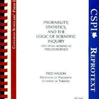 PROBABILITY STATISTICS AND THE LOGIC OF SCIENTIFIC...