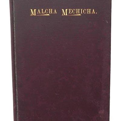 Malcha Mechicha James L. Elderdice Philosophy and Religion