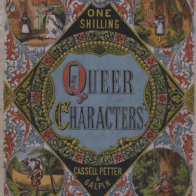 Queer characters [cover title] Children's Books) Arts...