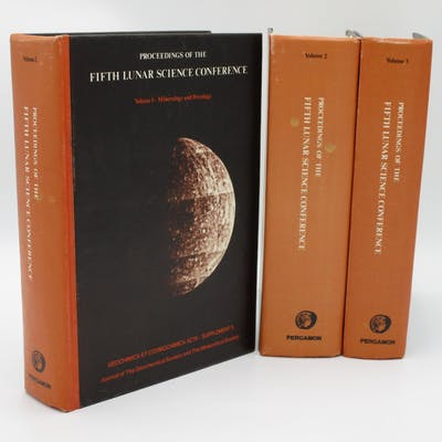Proceedings of the Fifth Lunar Science Conference
