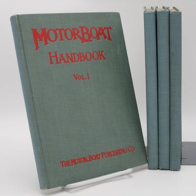 Motorboat Handbook. (4 volumes). Various authors. Nautical