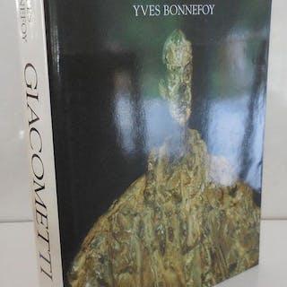 Alberto Giacometti; A Biography Of His Work Art - Bonnefoy