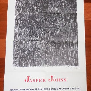 Ileana Sonnabend Exhibition Poster for Jasper Johns'...