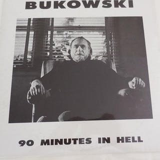 90 Minutes In Hell (Two Vinyl LP Records) Spoken Word Records - Bukowski