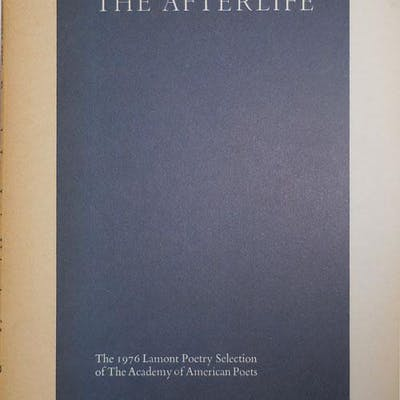 The Afterlife Levis, Larry Poetry Books