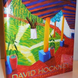 David Hockney A Retrospective Art - Hockney, David Conceptual Art