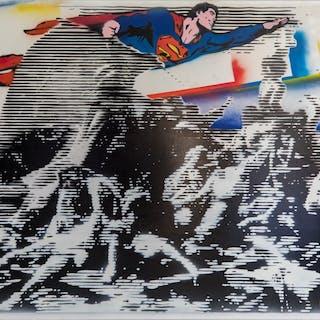 Le Radeau de la Méduse sauvé par Superman