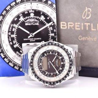 A very rare Breitling Navitimer Quartz 2300 ref. 80970 wristwatch