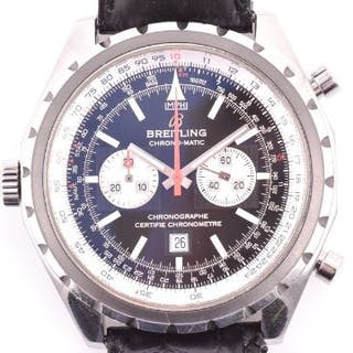 A Breitling Chrono-Matic ref. A41360 automatic pilots chronograph