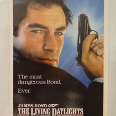 JAMES BOND LOT to include THE LIVING DAYLIGHTS (19