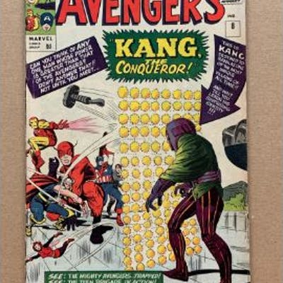 AVENGERS #8 (1964 - MARVEL) VG/FN (Pence Copy) - First appearance