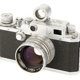 A Canon IID1 Rangefinder Camera – Current sales – Barnebys com