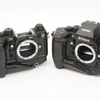 Two Nikon F4s SLR Bodies