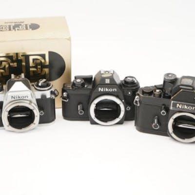 Three Nikon SLR Bodies