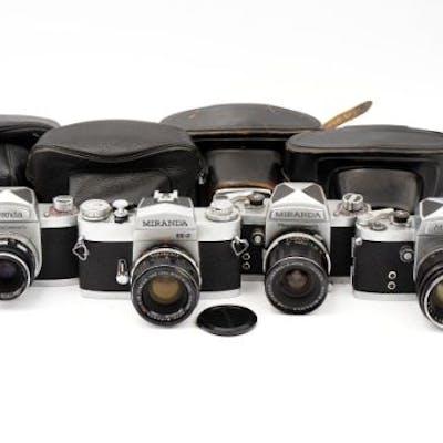 Four Miranda SLR Cameras