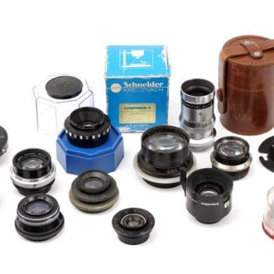A Small Selection of Various Lenses